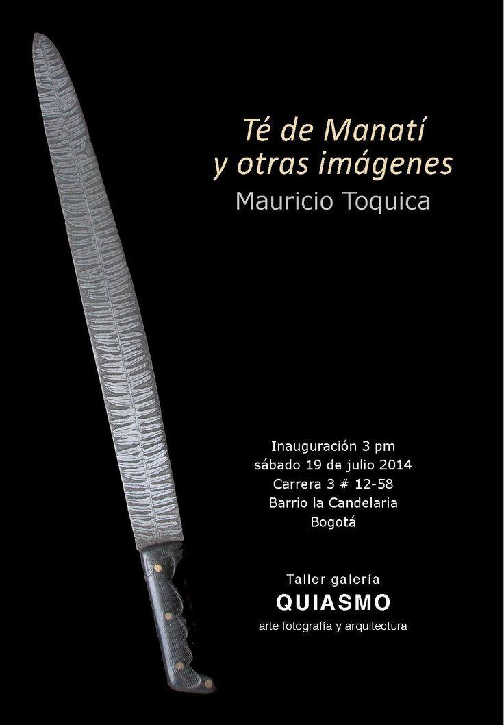 """Exposición """"Té de manatí y otras imágenes"""" de Mauricio Toquica. Julio 19, 2014"""