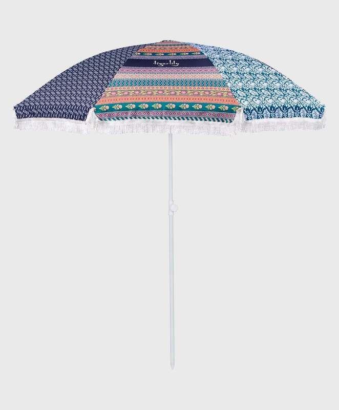 Tigerlily Beach Umbrella,Towels