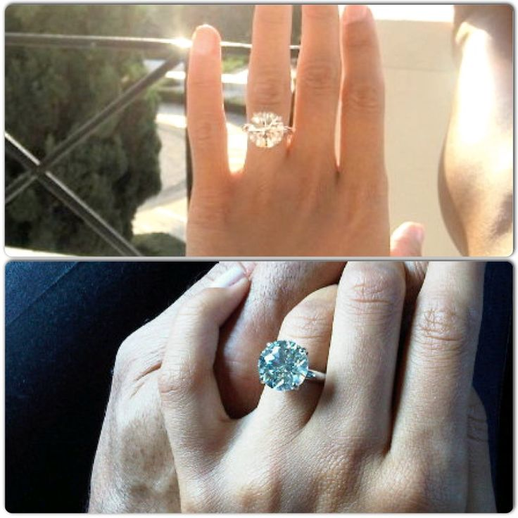 Jennifer Stano S 8 Carat Engagement Ring Luxe Life