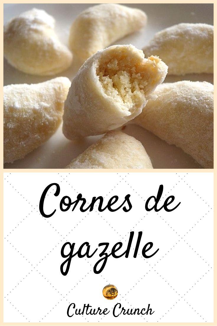 CORNES DE GAZELLE : la recette facile