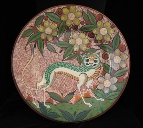Nagual-by-Master-Potter-Angel-Ortiz-Tonala-Mexican-Folk-Art-Hand-Made-amp-Painted
