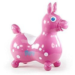 Go to http://prenatal-baby-toddler-preschool-store.co.uk/gymnic-rody-inflatable-hopping-horse-pink-by-ledraplastic-spa-toy  to review Gymnic / Rody Inflatable Hopping Horse, Pink by Ledraplastic SpA [Toy] by Gymnic