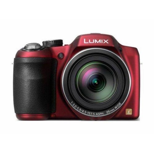 BRAND-NEW-Panasonic-Imaging-Long-Zoom-Dslr-Red