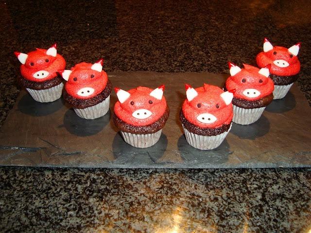 Chicago Bulls Cupcakes