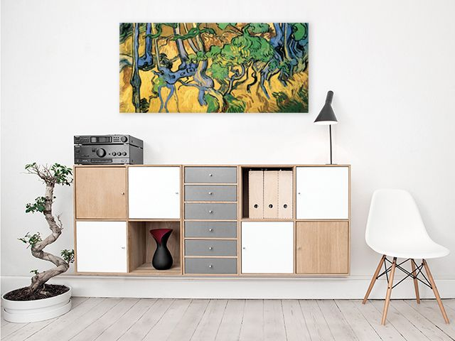 Intriguing and colourful painting by Vincent van Gogh avaliable as a print on canvas, poster, magnet and more!
