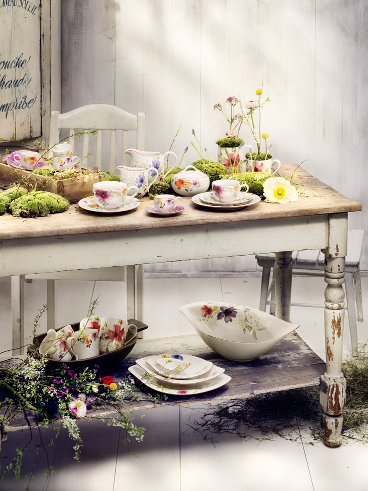 Romantika v provensálském stylu  http://www.luxurytable.cz/mariefleur/c-1291/