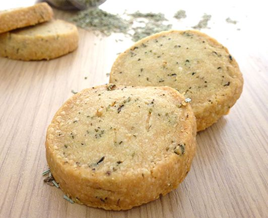 Parmesan-Thymian-Kekse