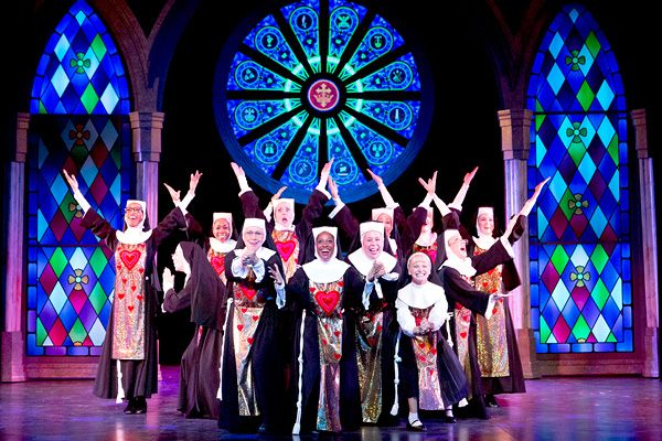 Image result for sister act the musical set design