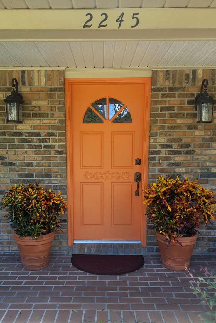 Modern Masters Non Fade Front Door Paint in color Energetic & 246 best Front Door Paint | Projects images on Pinterest | Modern ... Pezcame.Com