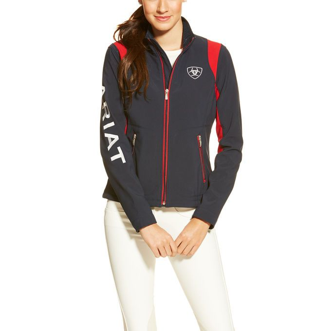 This is the team jacket that every equestrian athlete aspires to wear.Details include bold lettered Ariat branding, zippered hand pockets, mock ...