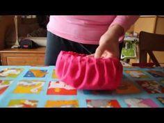 como hacer un gorro de cocinero facil - YouTube