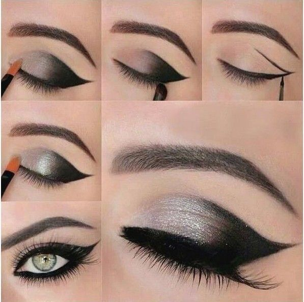Shimmer And Smokey Eyes For Stylish New Years Eve Makeup Looks