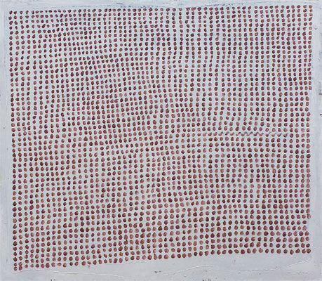 Joan Hernández Pijuan: Paisatge ordenat (1995) Óleo sobre lienzo 168 x 192 cm