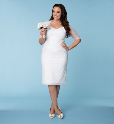 Trending Plus Size Wedding Dress at curvaliciousclothes SAVE Use code