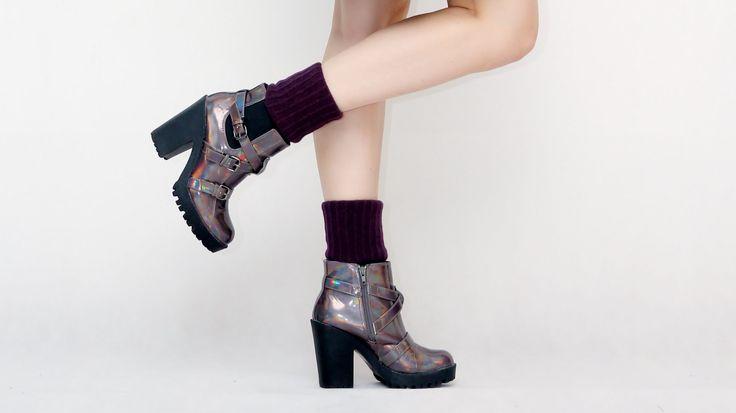 My way for Socks and heels / Moj Sposób na Skarpetki i Obcasy STYLIZACJE ;)