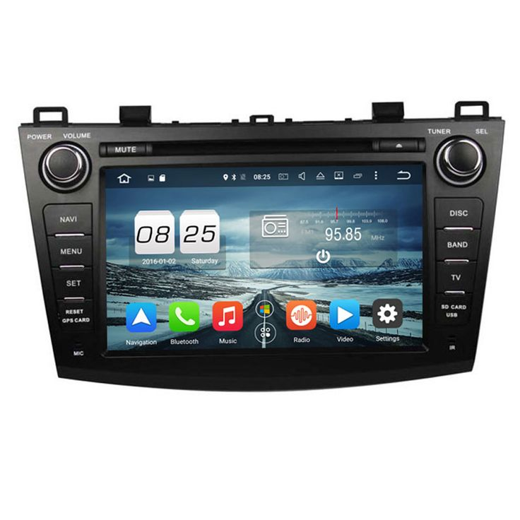 ROM 32G Octa Core Android 6.0 Fit MAZDA 3 2009 2010 2011 2012 Car DVD Player Navigation GPS Radio
