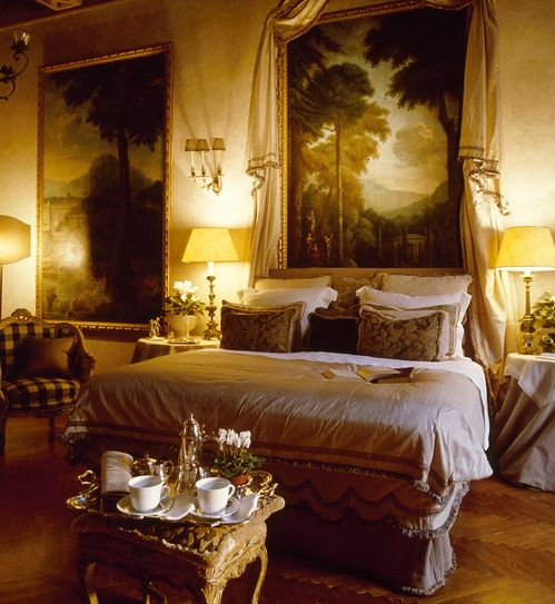 Is this the most opulent bed and breakfast in Europe? The Napoleone III Suite in the historic Palazzo Ruspoli, on swanky Via Condotti in Rome...
