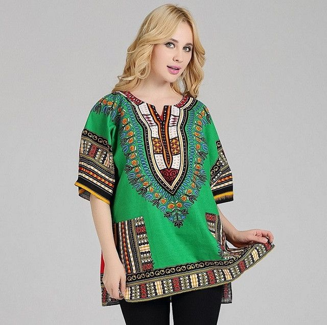 African Dashiki Shirt