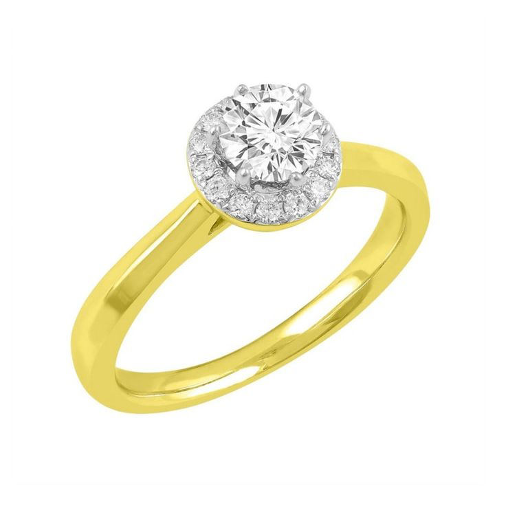 Love by Michelle Beville 18ct Yellow Gold 1/2ct of Diamond Ring. Available in stores or online - 9B62000
