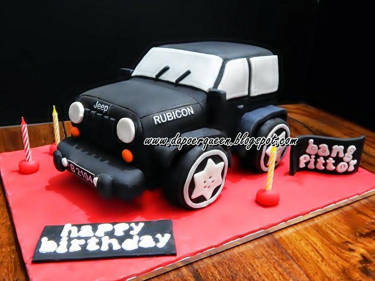 """Dapoer Queen: 3D """"Rubicon Car"""" Cake"""