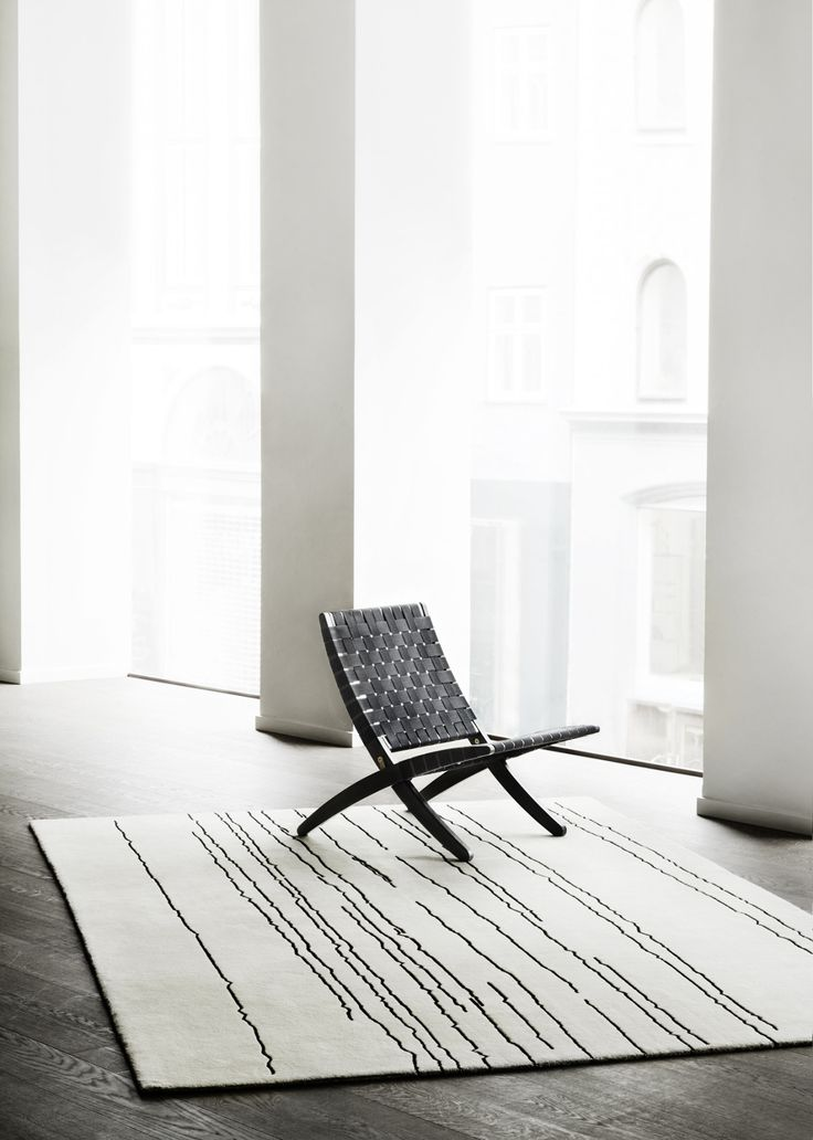 "ohyescoolgreat: "" 'Woodlines' rug collection by Naja Utzon Popov for Carl Hansen & son. "" The Woodlines Rug Collection draws inspiration from nature and a study of wood and its attributes. Naja Utzon Popov has zoomed in on countless lengths of wood,..."