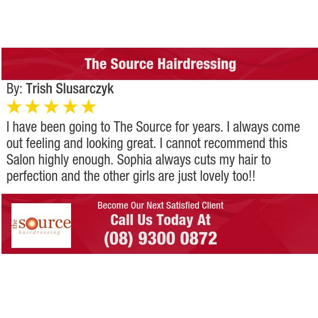 I have been going to The Source for years. I always come out feeling and looking great. I...