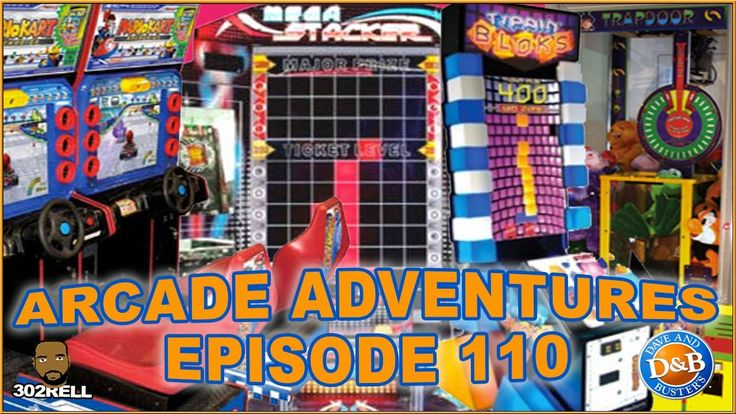 Dave & Busters Philly Arcade Adventure