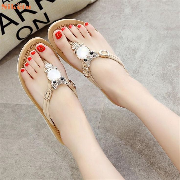 $7.72 (Buy here: https://alitems.com/g/1e8d114494ebda23ff8b16525dc3e8/?i=5&ulp=https%3A%2F%2Fwww.aliexpress.com%2Fitem%2FHigh-quality-Women-Fashion-Summer-Flat-Flip-Flops-Sandals-Loafers-Bohemia-Shoes%2F32780538857.html ) High quality Women Fashion Summer Flat Flip Flops Sandals Loafers Bohemia Shoes for just $7.72