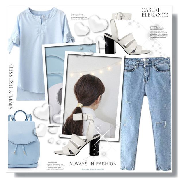 casual elegance by stranjakivana on Polyvore featuring polyvore fashion style rag & bone Valentino clothing