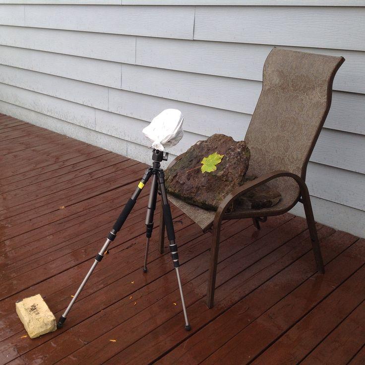Participation au Polaroid Week sous la pluie avec mon nouveau Pinhole Polaroid.