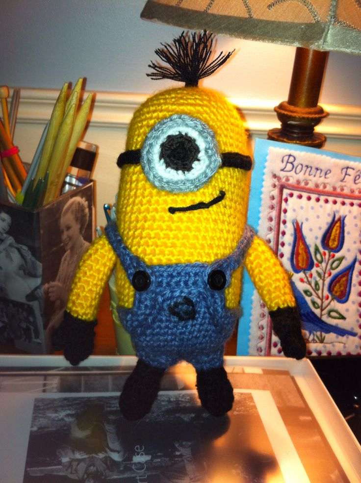 Minion Dave Amigurumi : 1000+ images about Crochet Toys on Pinterest Ravelry ...