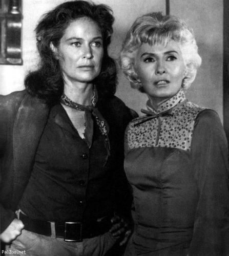 Colleen Dewhurst and Barbara Stanwyck: two of the strong women archetypes in my life
