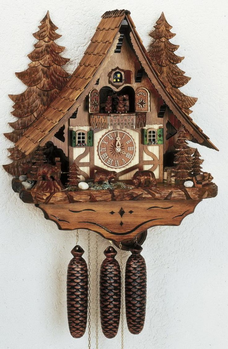 48 best cuckoo clock images on pinterest cuckoo clocks antique clocks and coo coo clock - Funky cuckoo clock ...