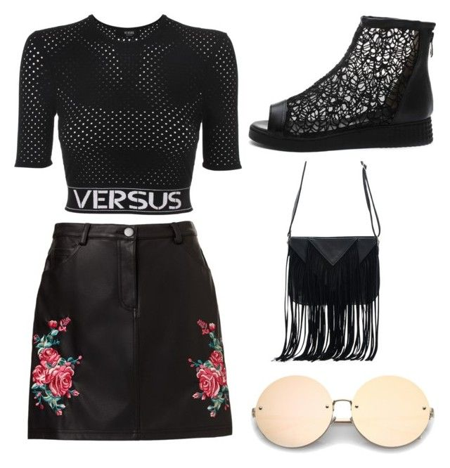"""""""Untitled #87"""" by denisapurple on Polyvore featuring Versus and WithChic"""