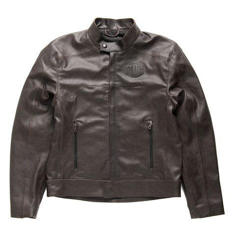 Deus x Dainese Leather Riding Jacket