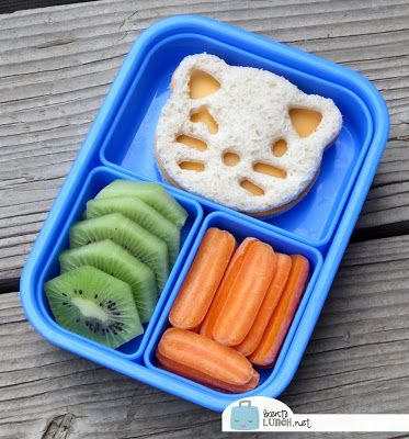 Bento lunch boxes are all the rage. I'm going to be trying these for my own 1st grader this year.