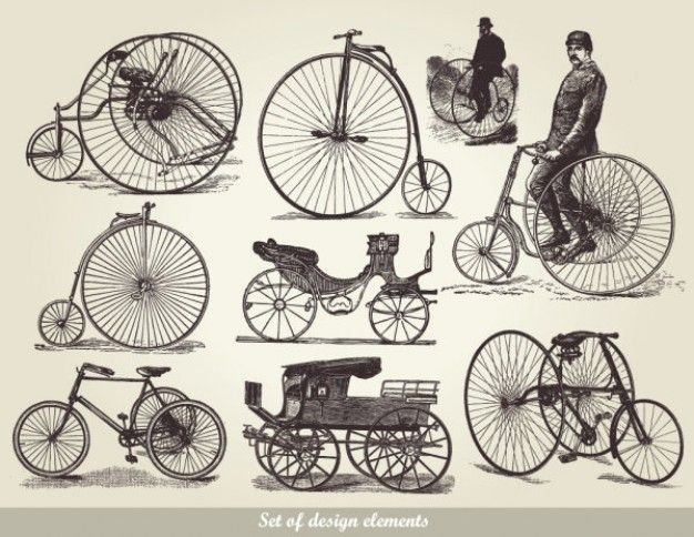 european-style-old-fashioned-means-of-transport-01---vector_15-14446.jpg (626×484)
