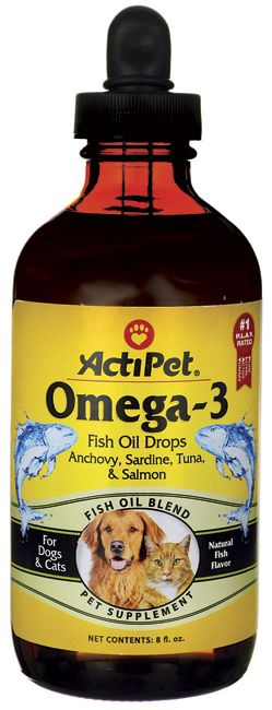Fish oil pee