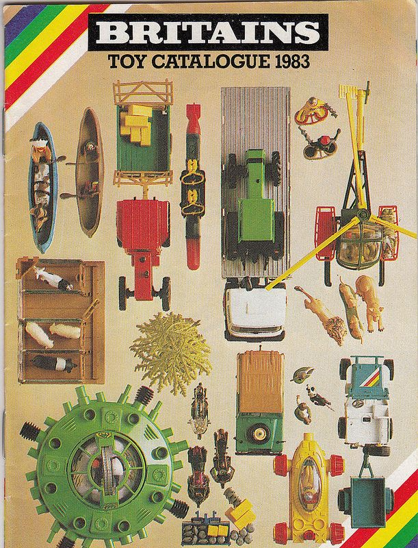 Britains toy catalogue cover 1983