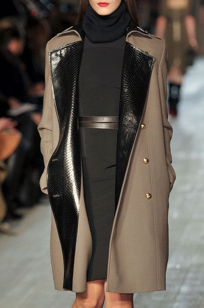 Victoria Beckham Fall 2012~ this for me...is THE PERFECY OUTFIT!... I love the classic timelessness, the chic casual warm, comfyness, but it the end result:...a lovely chic day to evening outfit!