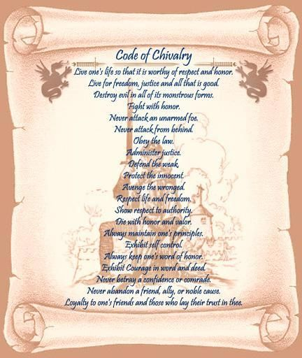 Oath of a Medieval Knight | knightly code of chivalry: takaramo pic