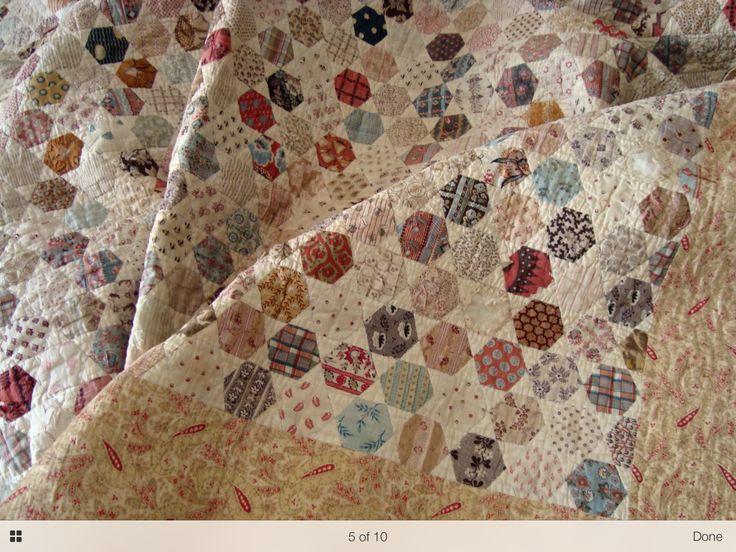 Vintage eBay quilt find: