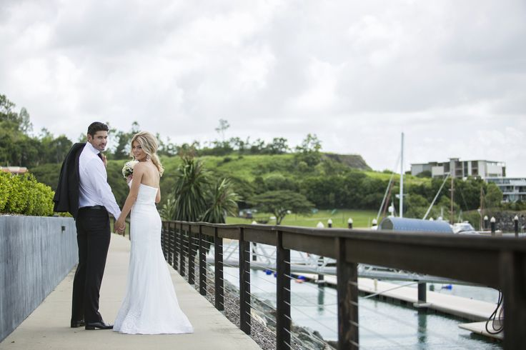 Wedding Photography locations at Lure Abell Point Marina