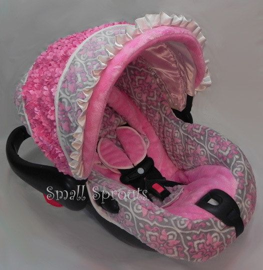 435 best Infant Girl Car Seat Covers images on Pinterest | Girl car ...