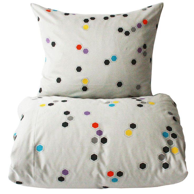Honeycomb bäddset, multi i gruppen Textil / Sängkläder / Påslakan hos RUM21.se (116985)
