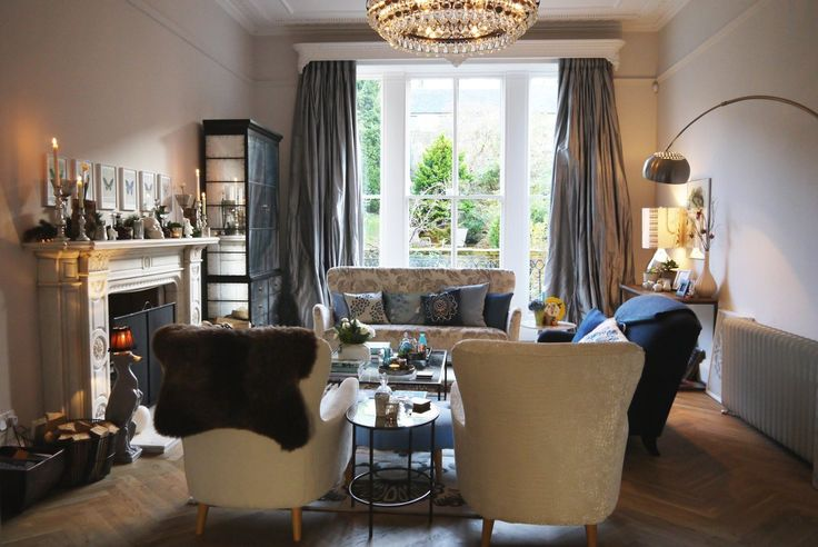 449 Best Glam Chic Living Rooms Images On Pinterest