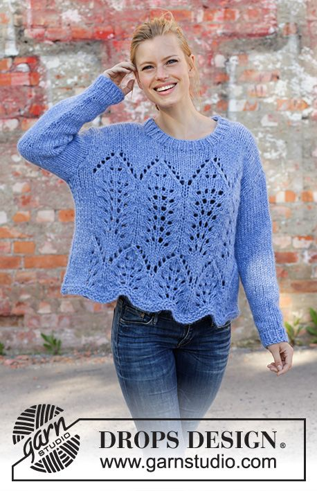 Free Knitting Pattern For A Lace Sweater Cathedral Windows Free