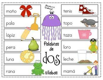 Centros de aprendizaje de fonética en español (Literacy Centers)