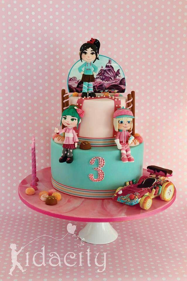 Wrecked Birthday Cake