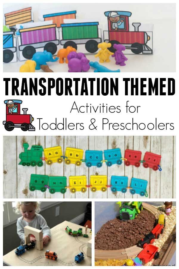 Preschool Transportation Toys : Best train activities for kids play ideas images on